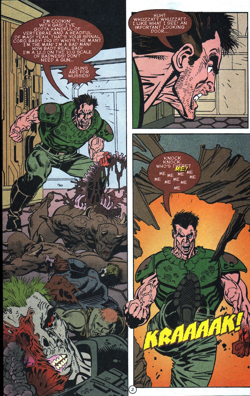 Doom: The Comic Rendition with MP3