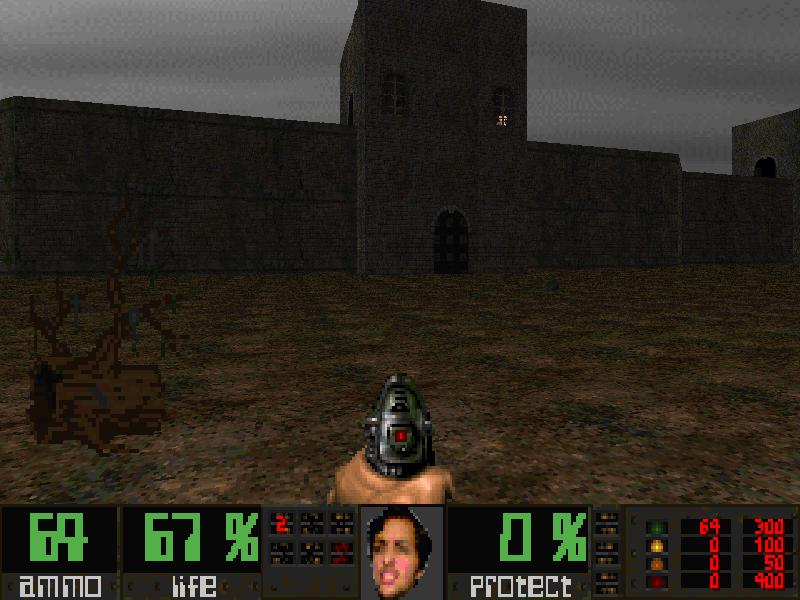 Female Doom by Daniel 7552kb - Zdoom 1.22 or Legacy 1.30 + Doom2 - SP - 18 ...